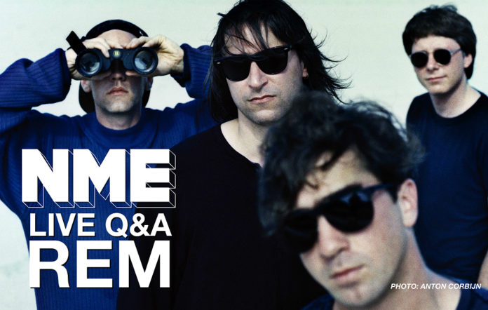 REM will be will in conversation with NME