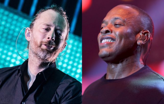 Radiohead's Thom Yorke and Dr Dre