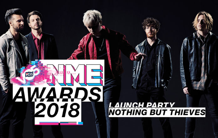 Nothing But Thieves will perform at the VO5 NME Awards launch party