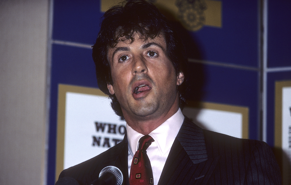 Sylvester Stallone in 1986