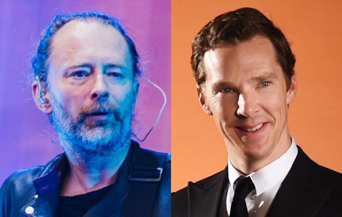 Thom Yorke and Benedict Cumberbatch