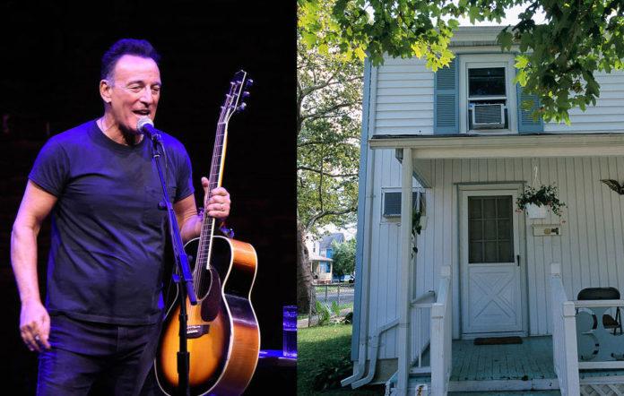 Bruce Springsteen childhood home