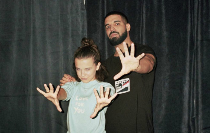 Drake, Millie Bobby Brown, Eleven