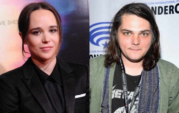 Ellen Page and Gerard Way