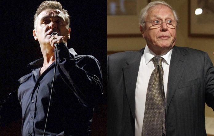 Morrissey and David Attenborough