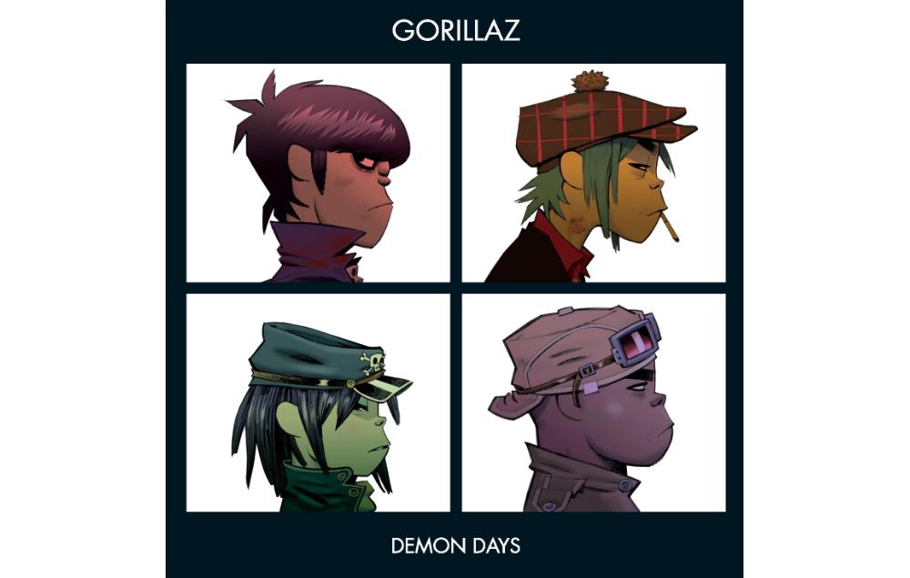 Gorillaz, Demon Days, Artwork