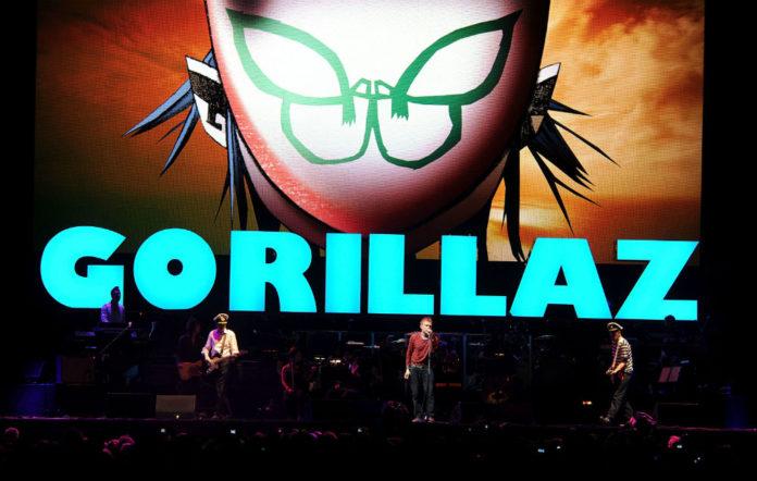 Gorillaz radio show London