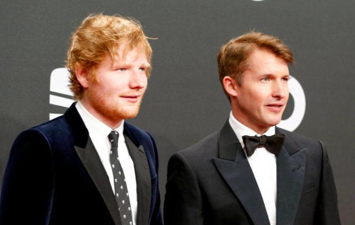 James Blunt Ed Sheeran