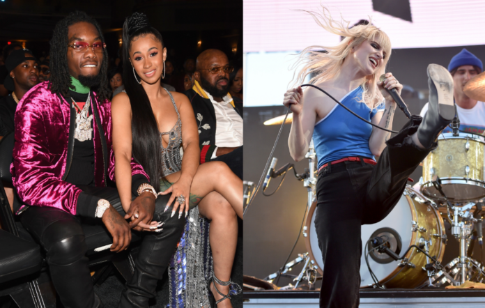 Offset, Cardi B and Hayley Williams