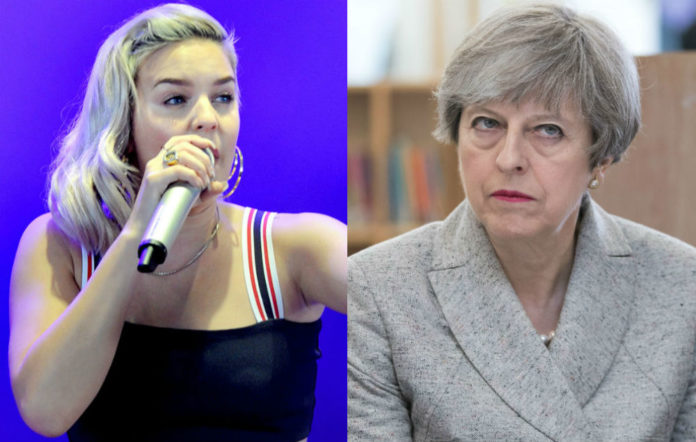 Anne-Marie, Theresa May