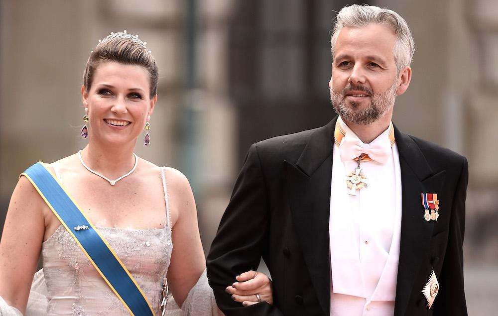 Princess Maertha Louise of Norway and Ari Behn
