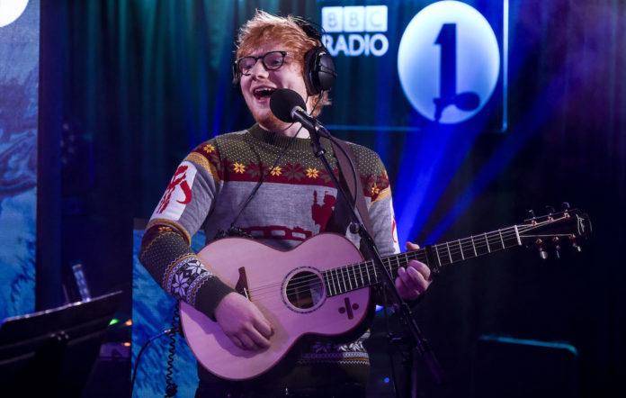 Ed Sheeran in the Live Lounge