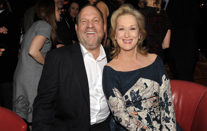 Meryl Streep Harvey Weinstein