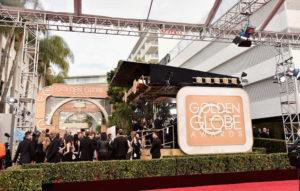 Golden Globes protest