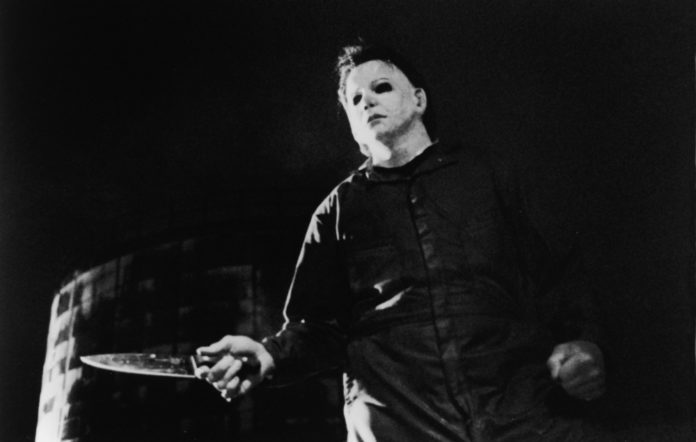 The character of Michael Myers in the 1978 original of 'Halloween'