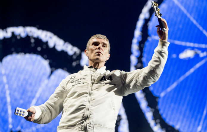 The Stone Roses' Ian Brown