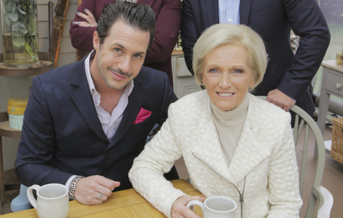 Johnny Iuzzini and Mary Berry on 'The Great American Baking Show'
