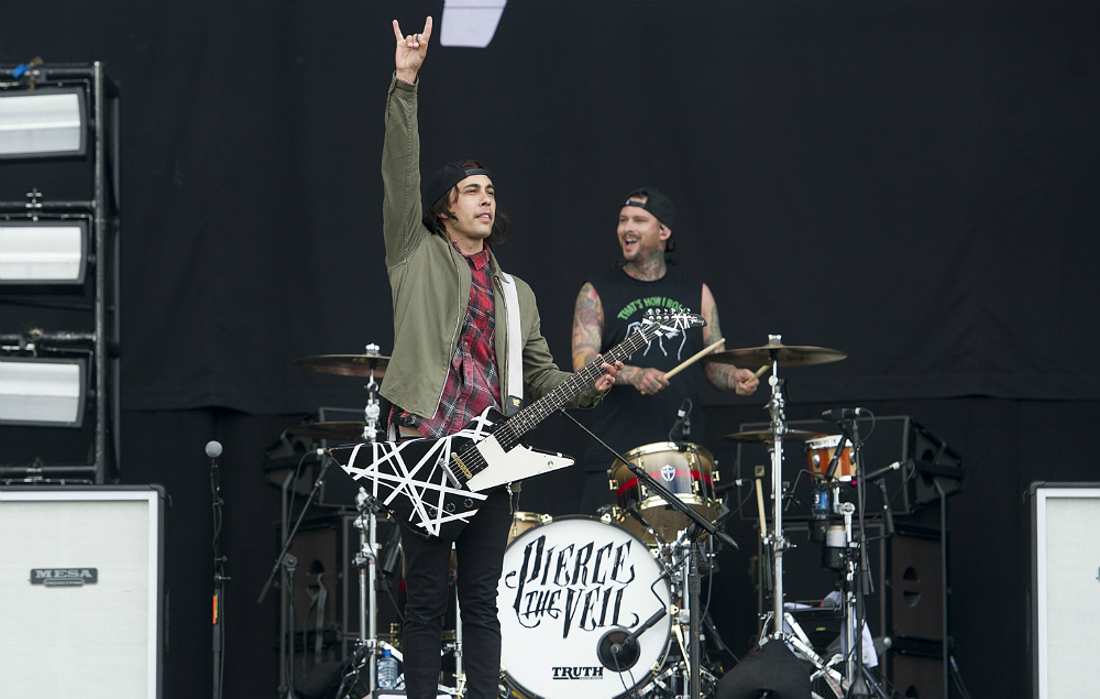 Pierce The Veil's Vic and Mike Fuentes