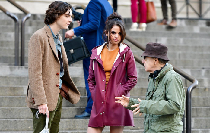 Selena Gomez Woody Allen