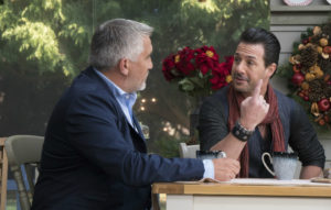 Paul Hollywood and Johnny Iuzzini on season two of 'The Great American Baking Show'