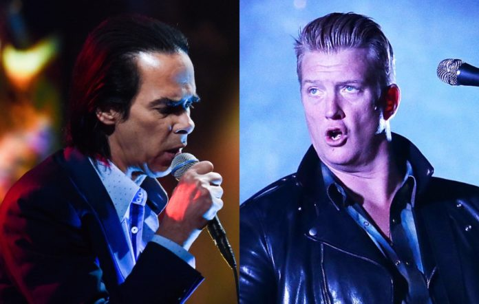 Nick Cave and Josh Homme