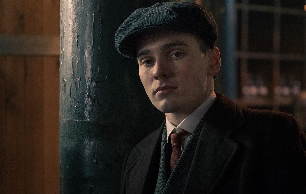 Jack Rowan as Bonnie Gold in 'Peaky Blinders'
