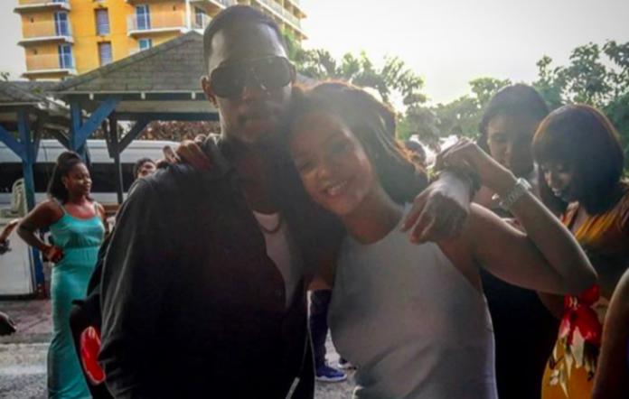 Tavon Kaiseen Alleyne and Rihanna