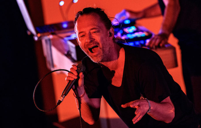 Thom Yorke performs at LA's Fonda Theatre