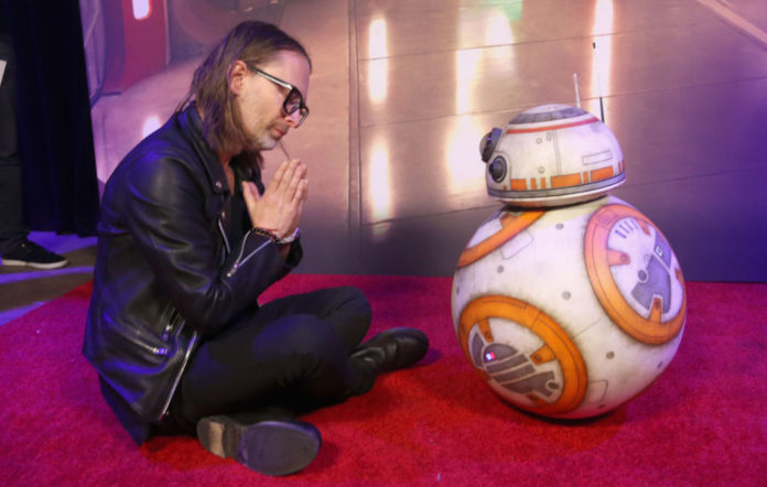 Thom Yorke and BB-8