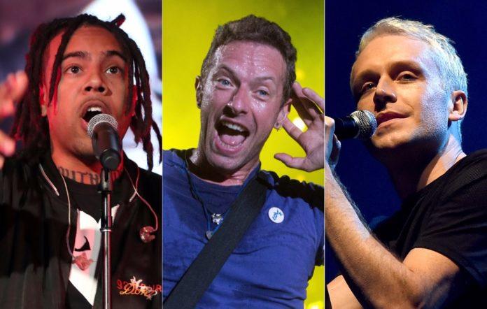 Vic Mensa, Coldplay and Mr Hudson