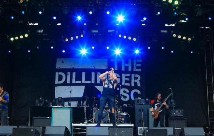 The Dillinger Escape Plan in 2015