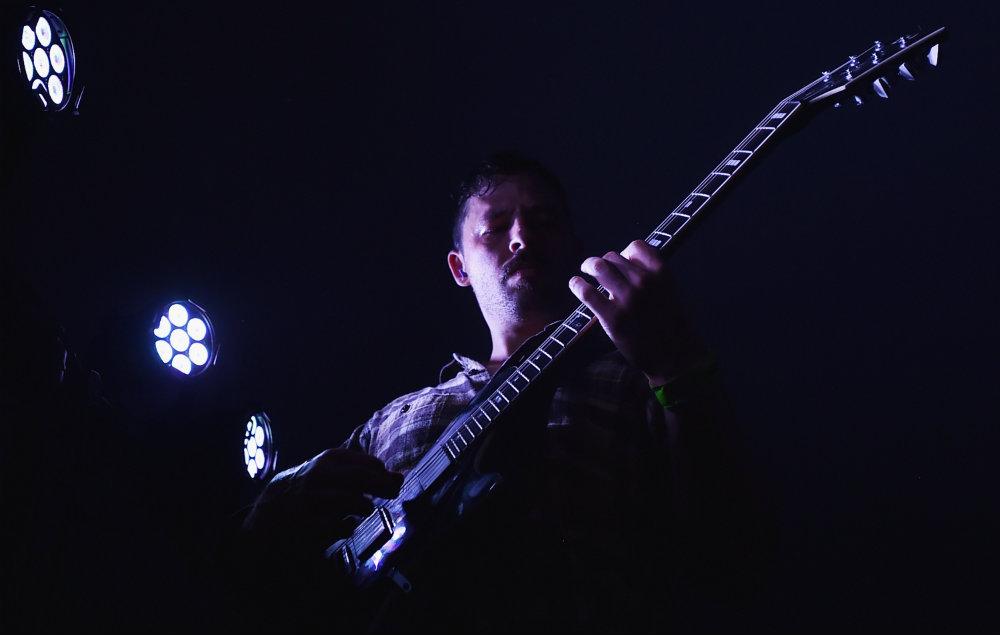 Guitarist Ben Weinman of The Dillinger Escape Plan