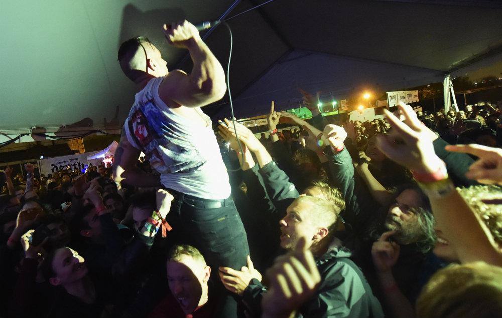 The Dillinger Escape Plan at SXSW in 2015