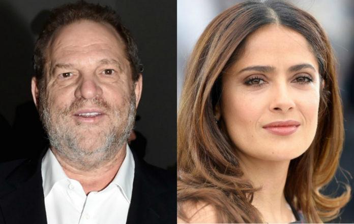 Harvey Weinstein Salma Hayek