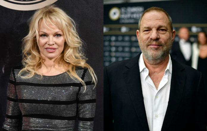 Pamela Anderson Harvey Weinstein comments