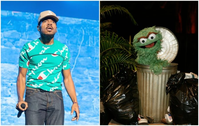 chance the rapper Sesame Street