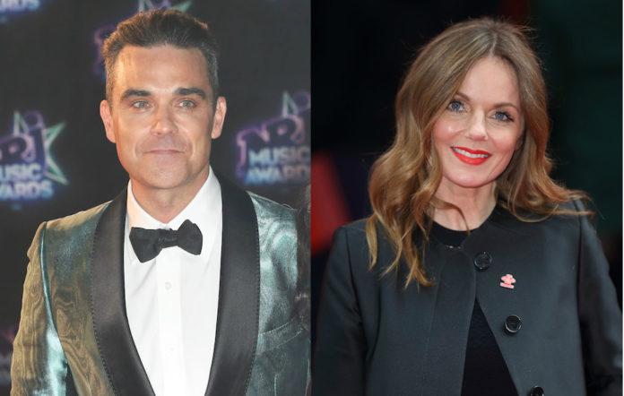 Robbie Williams Geri Halliwell