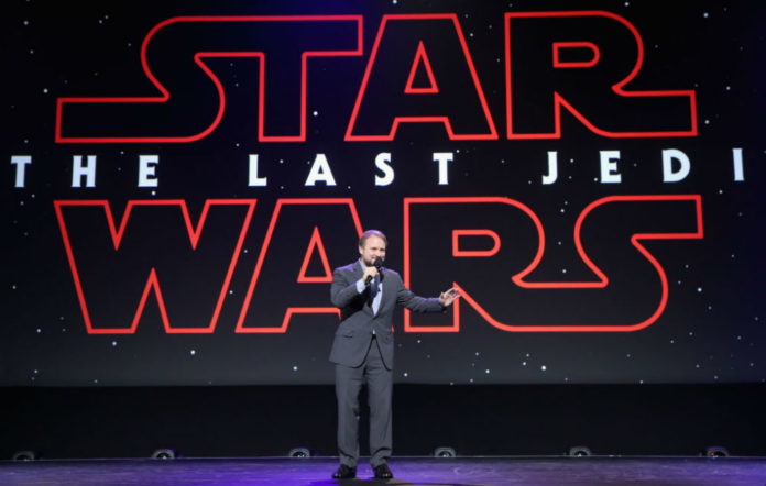Star Wars The Last Jedi first word