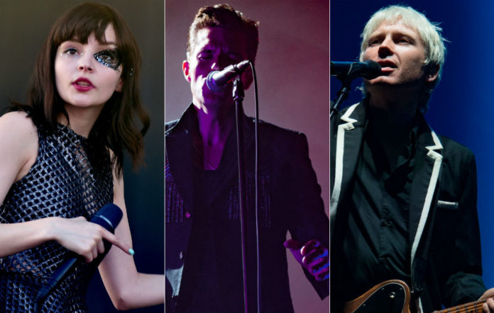 Chvrches, The Killers and Franz Ferdinand have been confirmed for TRNSMT Festival 2018