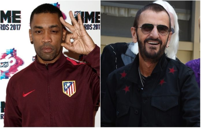 Wiley and Ringo Starr