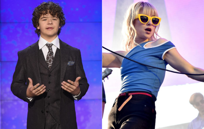 'Stranger Things' star Gaten Matarazzo and Paramore's Hayley Williams