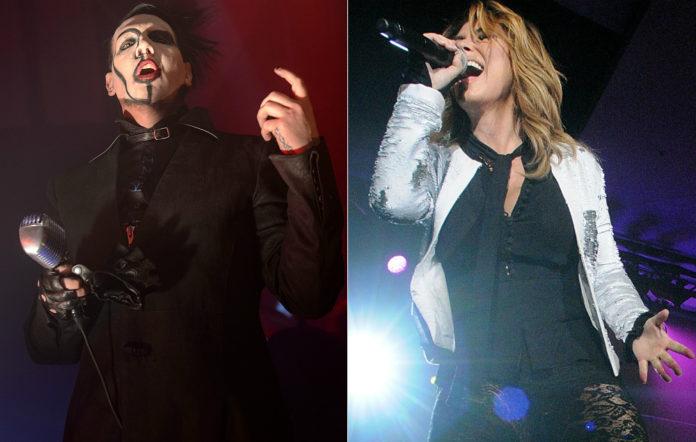 Marilyn Manson and Shania Twain