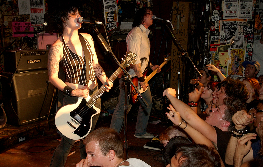 The Distillers during The Distillers Perform at CBGB's at CBGB's in New York City, New York, 2003