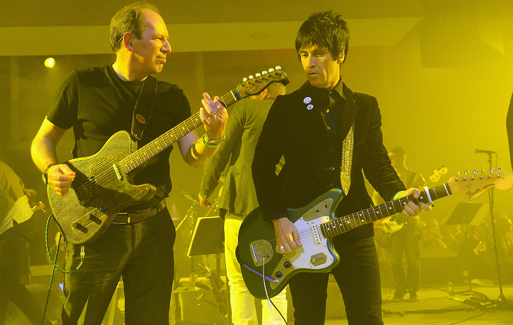 Hans Zimmer performing live with Johnny Marr