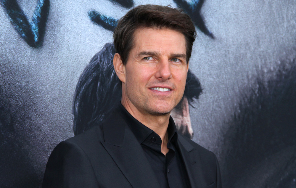 Tom Cruise spotted