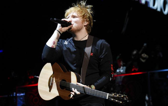 Ed Sheeran live