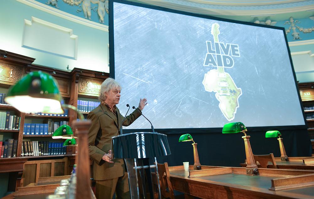 Bob Geldof discusses the future of 'Live Aid'