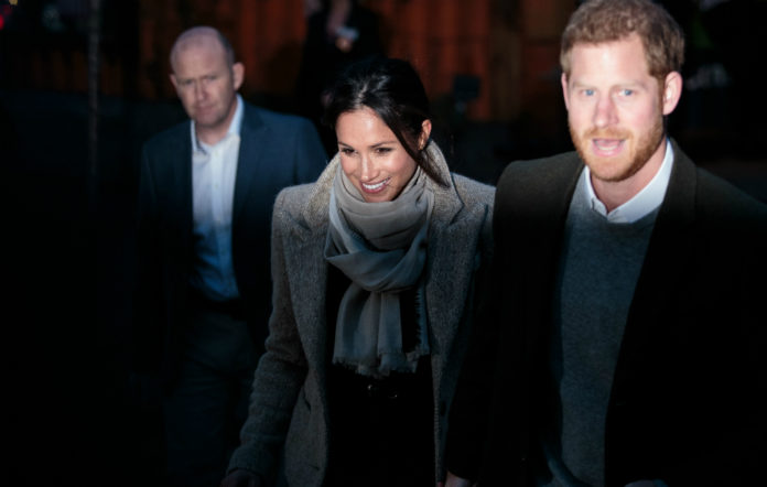 Meghan Markle and Prince Harry visiting Reprezent Radio in Brixton