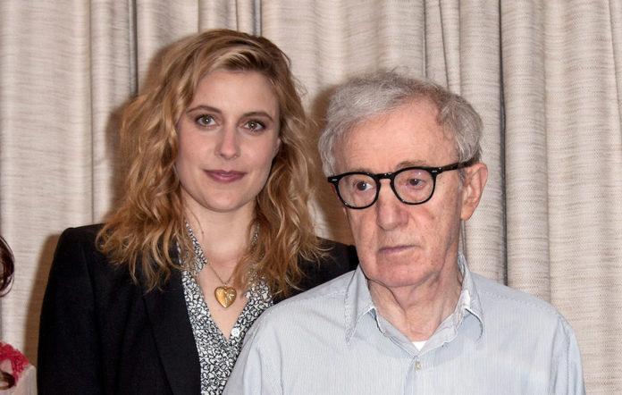 Greta Gerwig and Woody Allen