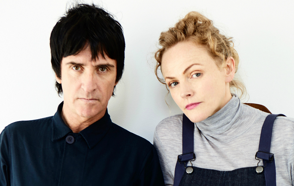 Johnny Marr and Maxine Peak